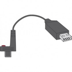Cable USB avec. Softw. HP
